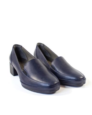 темно-синие туфли Mario Muzi