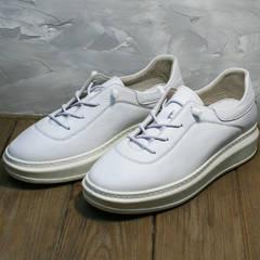 Белые кеды кроссовки женские Rozen M-520 All White.