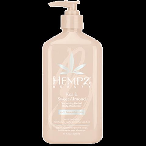 Молочко для тела увлажняющее Коа и Сладкий Миндаль / Hempz Koa & Sweet Almond Smoothing Herbal Body Moisturizer