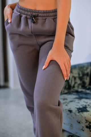 Спортивные штаны утепленные флисом купить