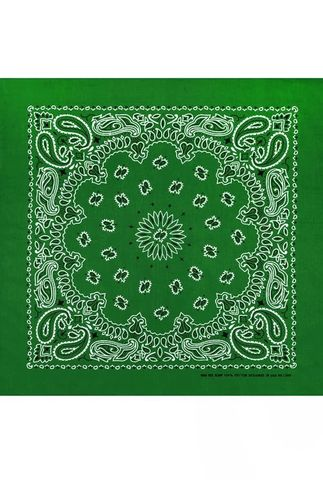Зеленая бандана фото