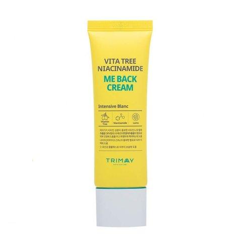 Осветляющий крем с ниацинамидом Trimay Vita Tree Niacinamide Me Back Cream