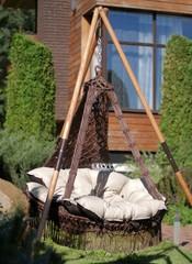 Подвесное кресло Cartagena с деревянным каркасом Майя