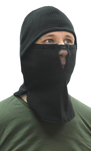 Шапка- маска Буран тк. Флис цв. Черный