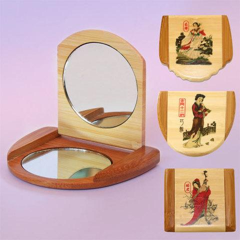 Зеркало в бамбуке
