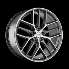 Диск колесный BBS CC-R 9x19 5x120 ET26 CB82.0 graphite/diamond cut