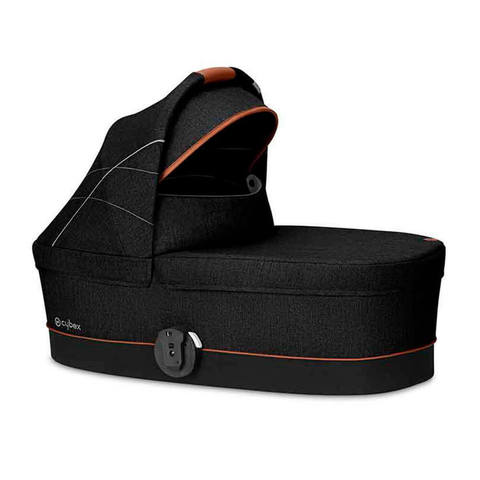 Спальный блок Cybex Carry Cot S Denim Collection Lavastone Black