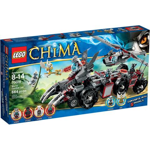 LEGO Chima: Бронетранспортёр Волка Воррица 70009 — Worriz' Combat Lair — Лего Чима