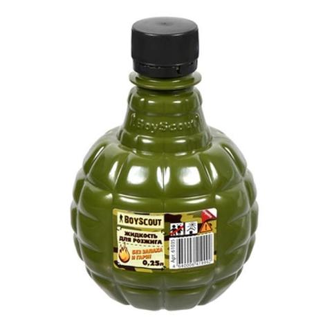 Жидкость д/розжига BOYSCOUT парафиновая 0,25 л 61035