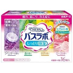 Соль для ванны Hakugen увлажняющая с восстанавливающим эффектом 16 таб