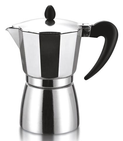 Кофеварка Italco Soft 0.120л алюминий серебристый (275300)
