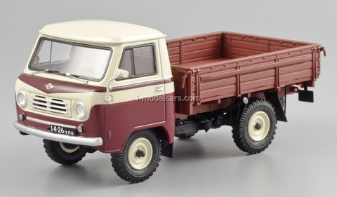 UAZ-450D 1958 beige-red DIP 1:43