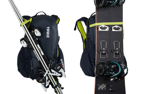 Картинка рюкзак горнолыжный Thule Upslope 35L Lime Punch - 6