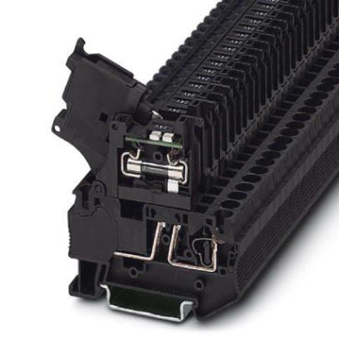 Клеммы для установки предохранителей - ST 4-HESILED 24 (5X20) - 3036547