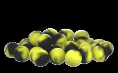 Бойлы насад. плав. двух цв. Sonik Baits CORN-MACKEREL Fluo Pop-ups 14мм 90мл