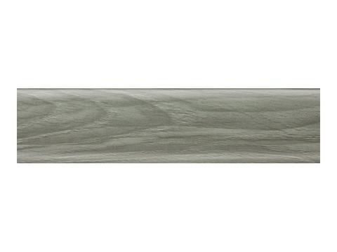 Шато Серый 56 плинтус с мягким краем (2500*56мм) Salag Польша