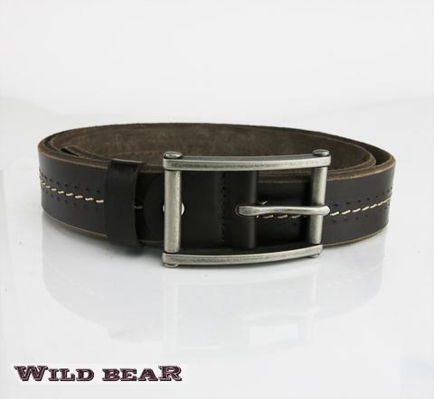 Ремень WILD BEAR RM-014f Brown Premium