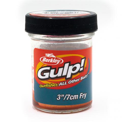 Приманка силиконовая Berkley Gulp Fry 8 см. Bubblegum (1404402) Имитация червя