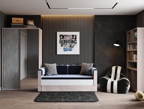 Плюшевый коврик 150х200 см Prizma