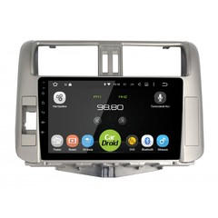 Штатная магнитола на Android 6.0 для Toyota Land Cruiser 150 09-14 Roximo CarDroid RD-1114F