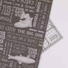 Ткань для пэчворка, хлопок 100% (арт. RK0301)