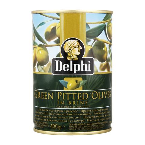 Оливки без косточек в рассоле, 400 гр.