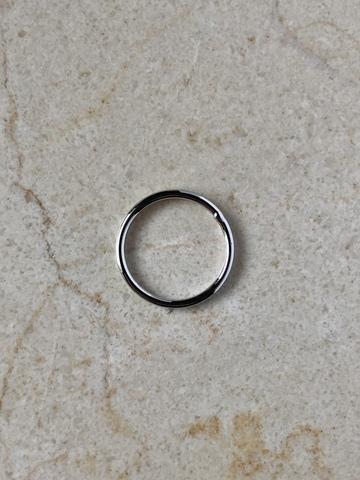 Кольцо Минималиста, серебряный цвет
