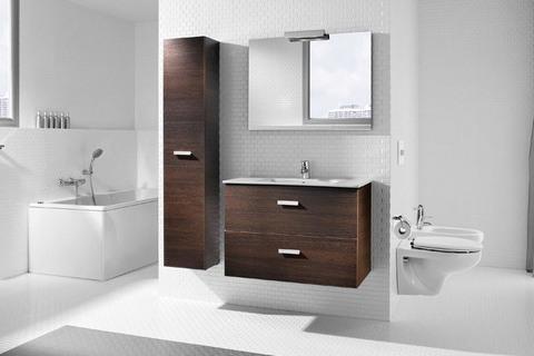 Мебель для ванной 80см. Roca Victoria Nord венге ZRU9000031/732799С000 вид комлекта