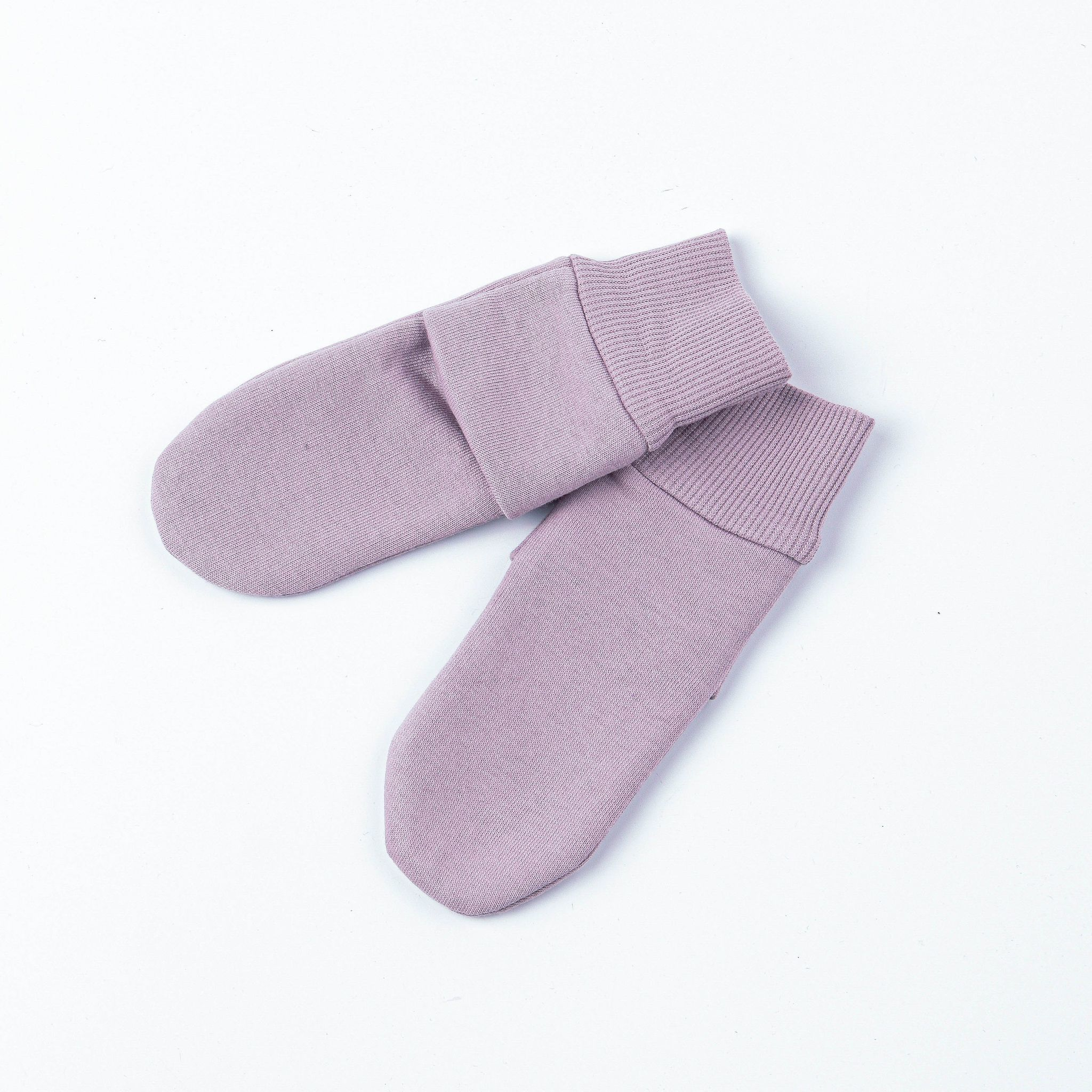 Socks with fleece lining 0+, Heather