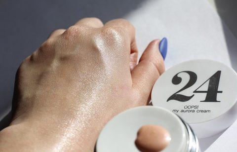 Сияющий крем-хайлайтер Berrisom 24 Oops! My Aurora Cream