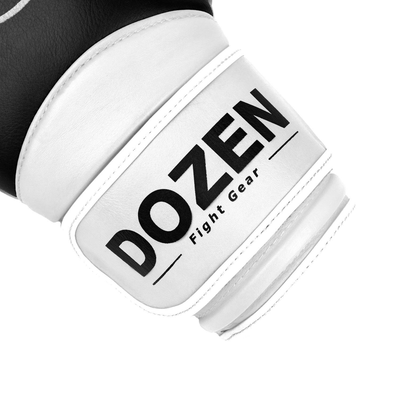 Перчатки Dozen Dual Impact Black/White манжет