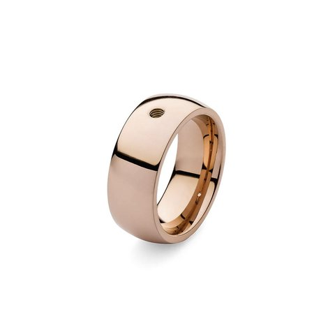 Кольцо - база Basic big gold 17.2 мм 627014 RG