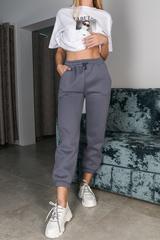 Спортивные штаны утепленные флисом Nadya