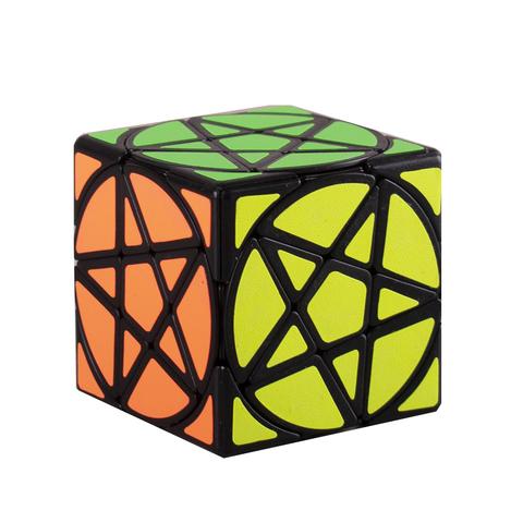 Кубик рубик с звездой 6 шт/уп