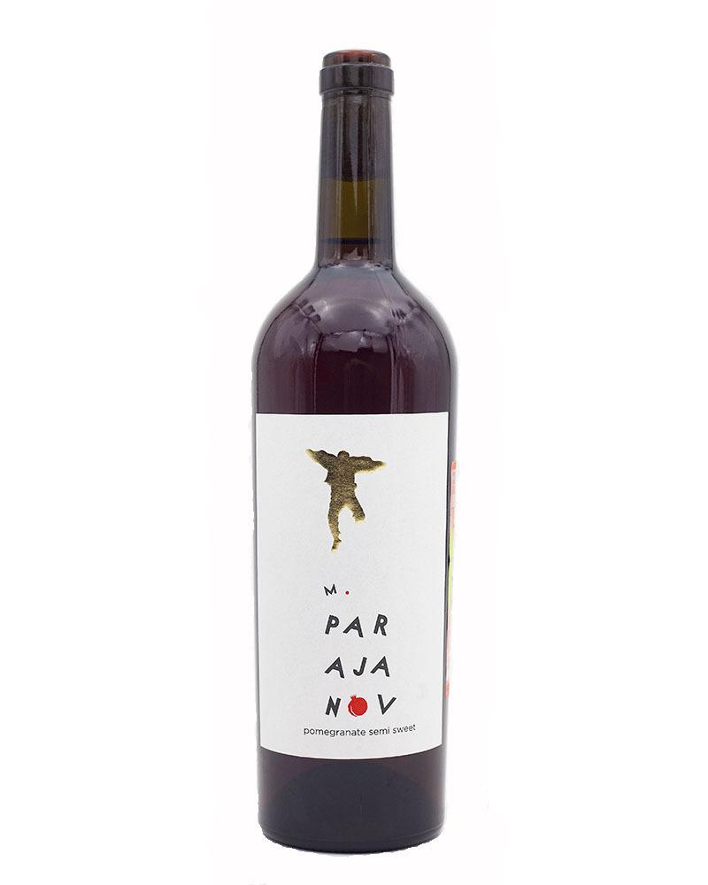Вино фруктовое, гранатовое Полусладкое М.Параджанов 12,0% 0,75л.