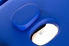 Массажный стол деревянный 2-хсекционный RESTPRO Classic 2 Blue