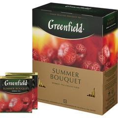 Чай Greenfield Summer Bouquet фруктовый 100 пакетиков