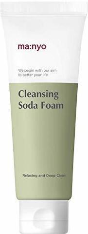 Очищающая Пенка Для Лица С Содой И Натуральными Частицами MANYO FACTORY Deep Pore Cleansing Soda Foam
