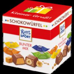 Подарочный набор Ritter Sport Schokowürfel Bunter mix 176 гр