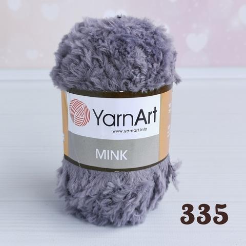 YARNART MINK 335,  Серый
