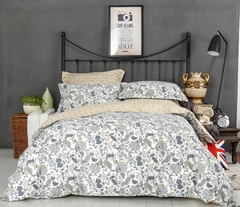 Сатиновое постельное бельё  1,5 спальное Сайлид  В-183
