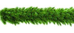 TRIUMPH TREE хвойная гирлянда Лесная красавица зеленая 270*33 см