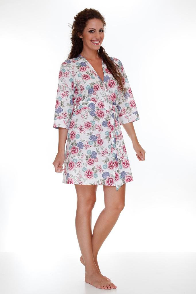Цветочный халат DolceVita