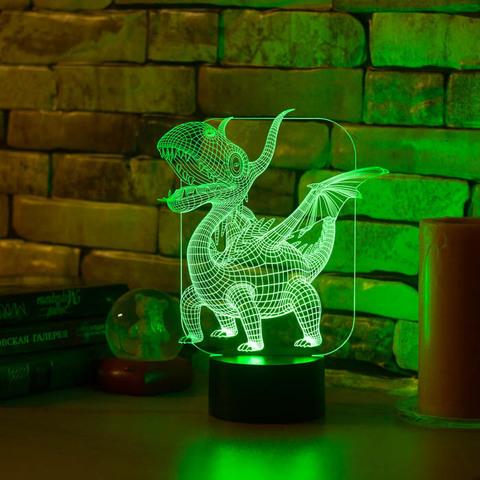Светильник Дракоша