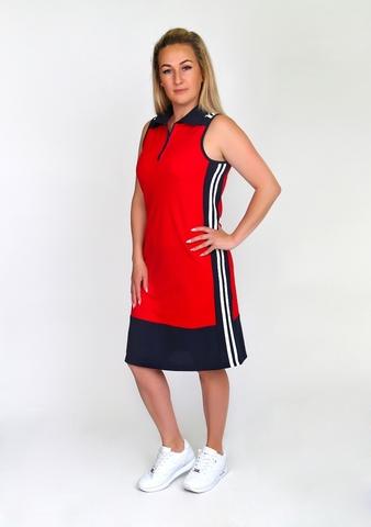 Платье спортивный стиль