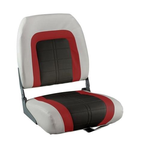 Сиденье мягкое Special High Back Seat, серо-черное