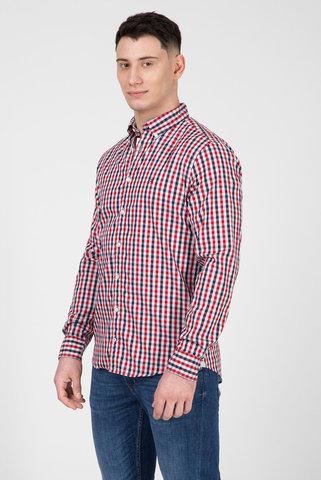 Пересъемка Мужская рубашка в клетку HEATHER GINGHAM Tommy Hilfiger