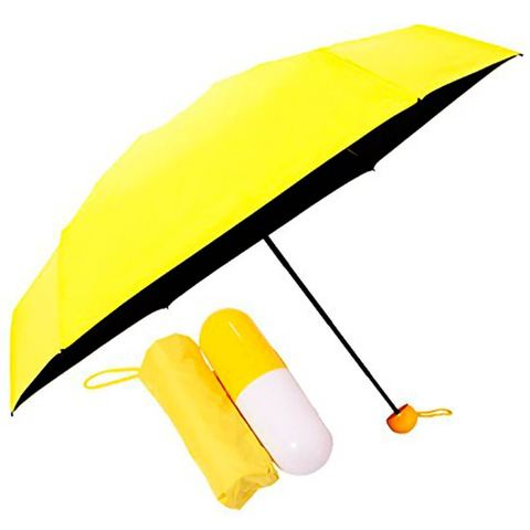 Зонт - капсула женский складной мини