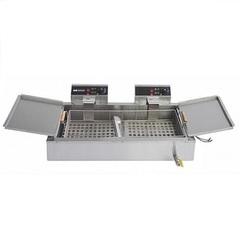 Чебуречница  HURAKAN HKN-EF26 ( 3,9+3,9 кВт , 930x540x265 мм,  220В  ),   26 л