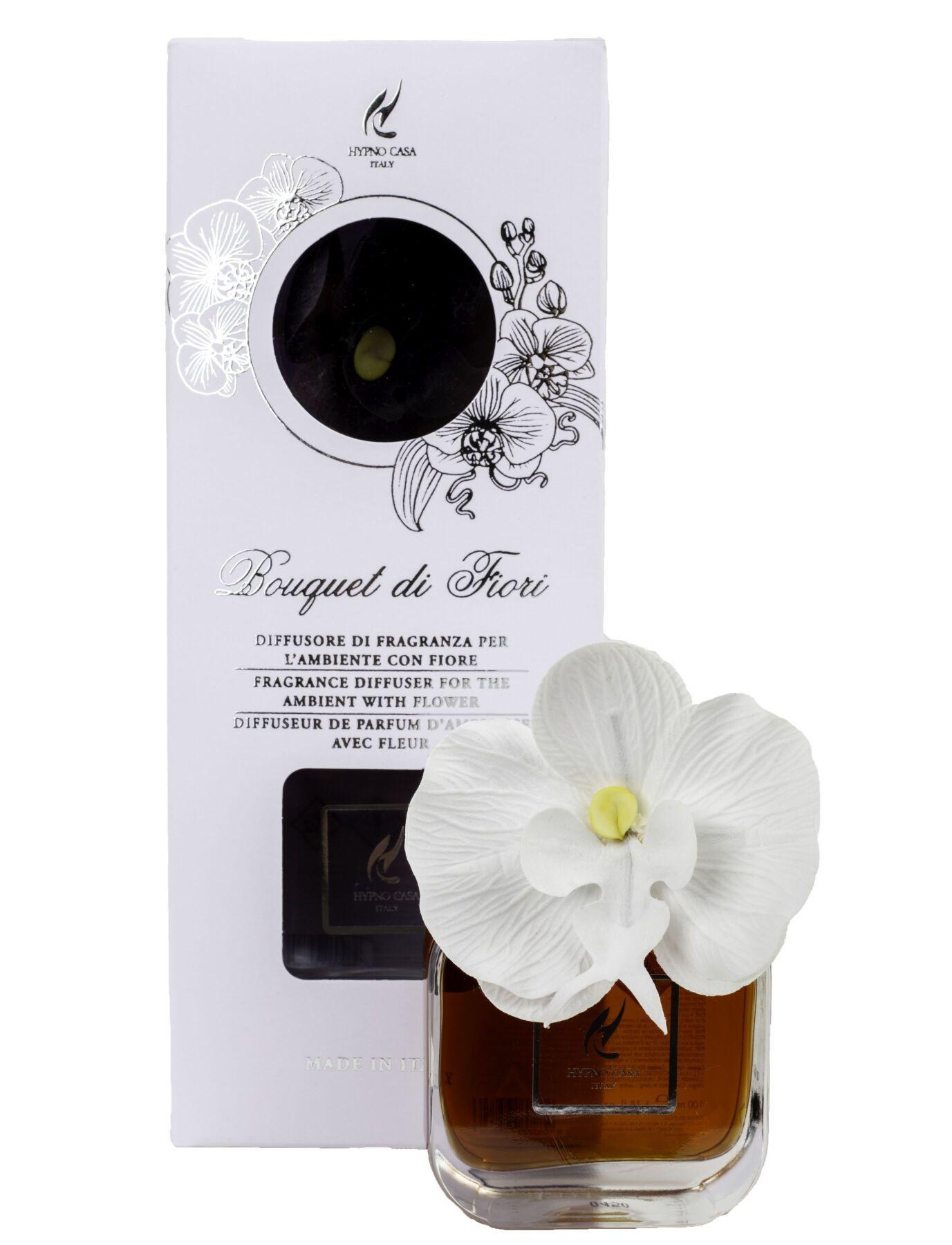 Диффузор Hypno Casa с цветком орхидеи 100ml Sandalo Nobile